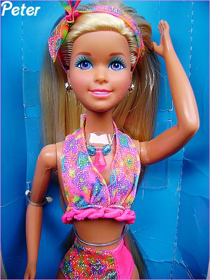 Jazzie the teen cousine of Barbie Jazzie-glitter-beach-35398cf