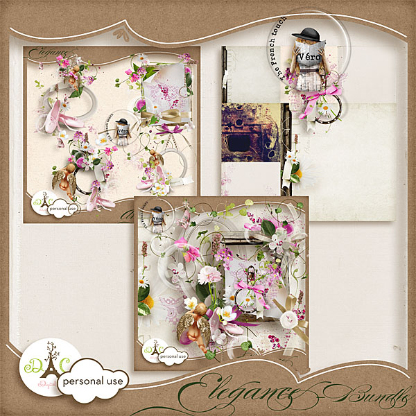Véro - MAJ 02/03/17 - Spring has sprung ...  - $1 per pack  - Page 2 Preview_elegancebundle_vero-350be97